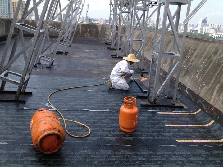 屋顶花园屋面防水施工措施