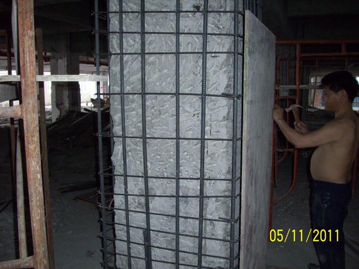 柱子不锈钢钢绞线加固技术