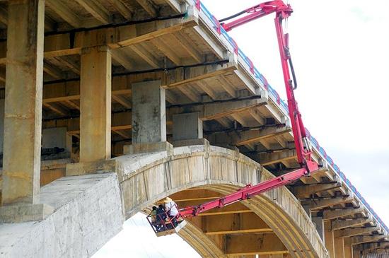 藤县西江大桥加固改造工程项目主要工程技术及管理方法